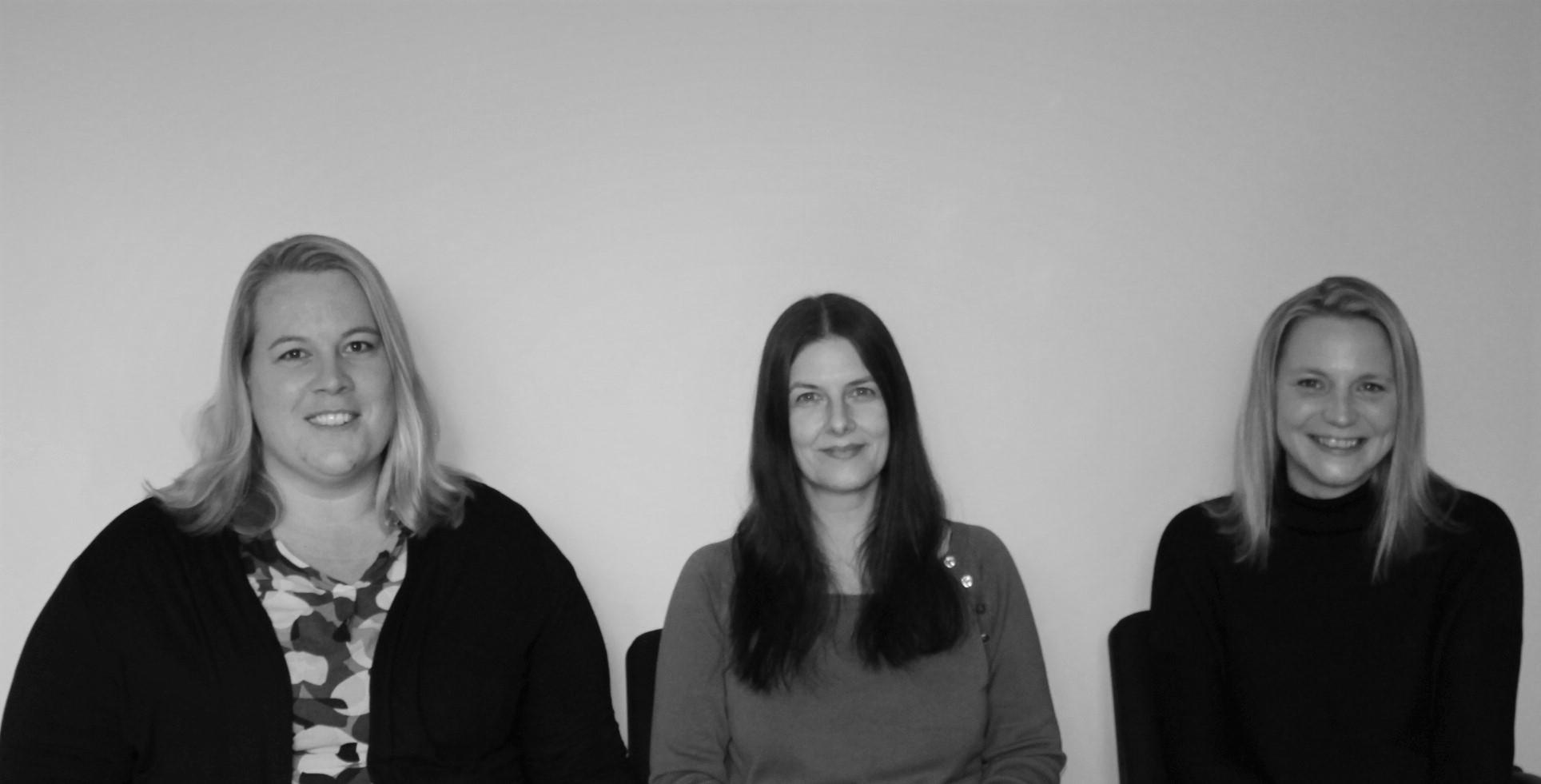 Silke Gerritzen, Daniela Floß, Melanie Krämer